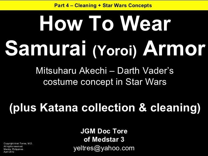 How To Wear Samurai Armor, 4 of 4