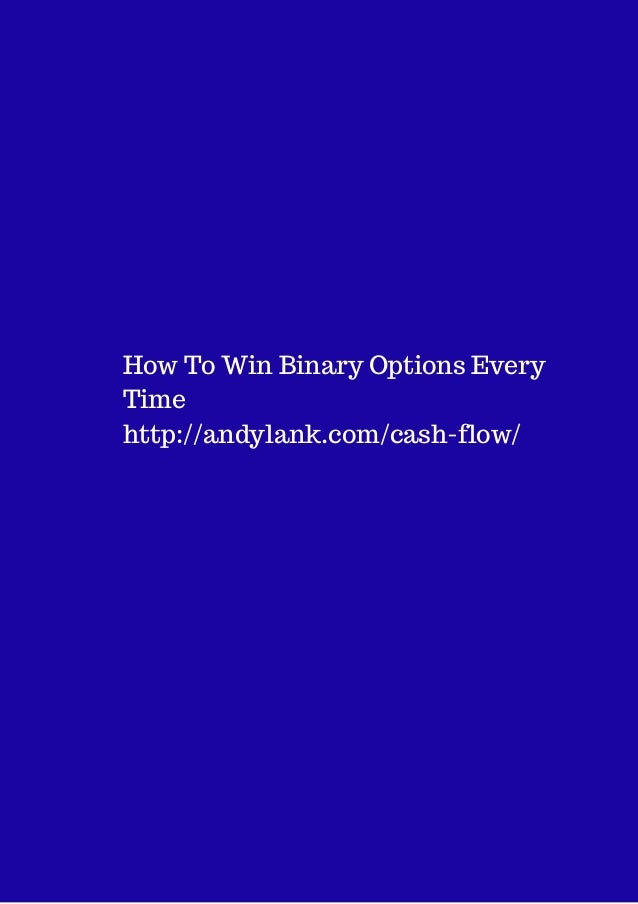 how to win in the binary options novice video