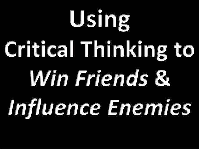 Using critical thinking