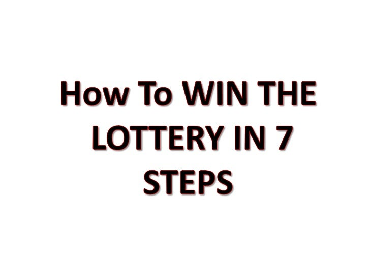How to win at lottery numbers