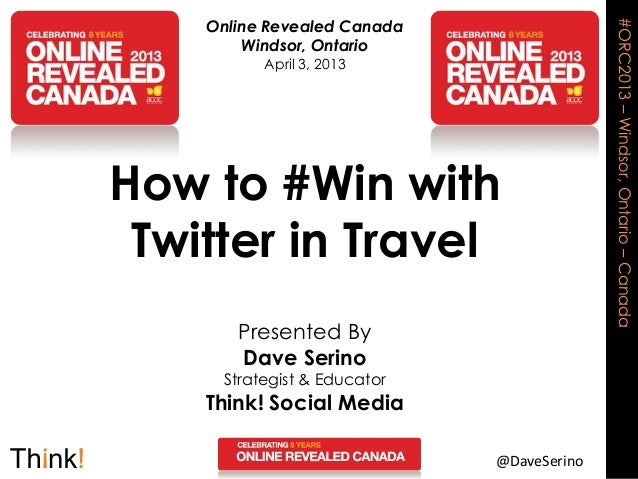 How to #Win with Twitter in Travel