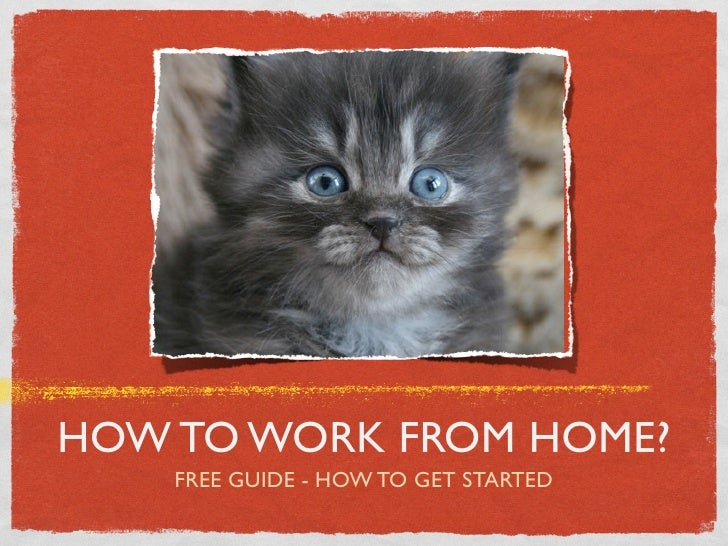 HOW TO WORK FROM HOME?    FREE GUIDE - HOW TO GET STARTED