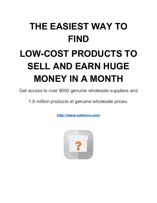 How to work sell and earn online for What can i make to sell online