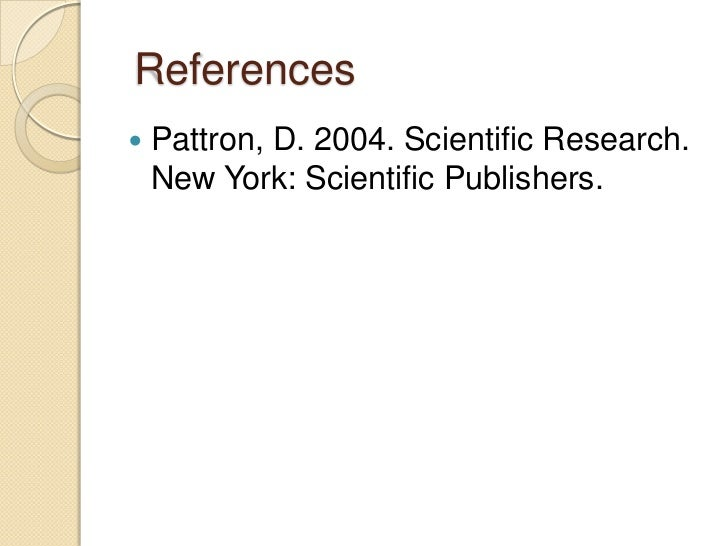 Basic research proposal