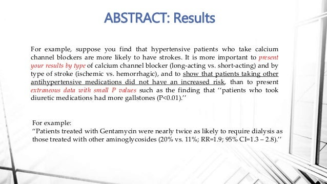 example of research paper abstract