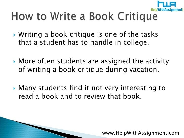 The Best Way to Write a Critique in Five Paragraphs - wikiHow