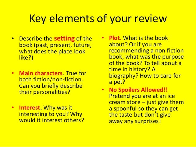 How to write a textbook review