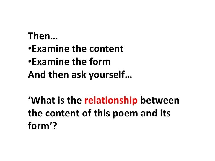 How to write about poetry