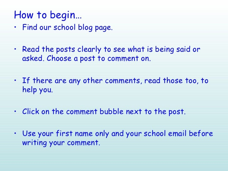 How to write for a blog
