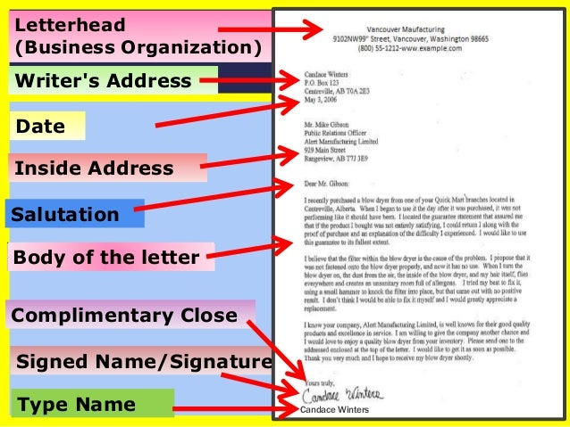 How To Write a Business/Formal Letter