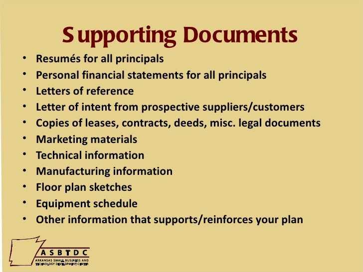 Copies of resumes
