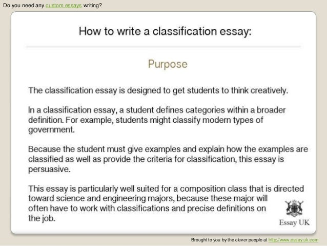 types of friends classification essay I wrote this essay in 30 minutes i welcome your constructive criticisms that is why we have different types of friends with different capabilities and tastes.