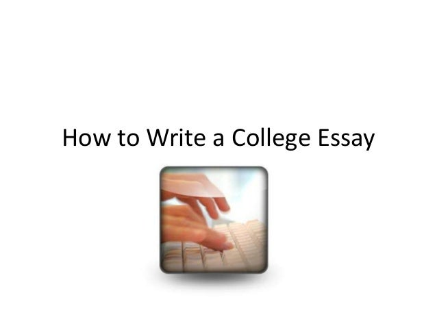 How to write papers in college