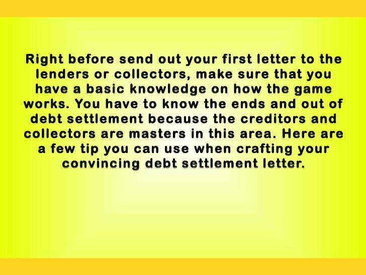 How to write a convincing letter