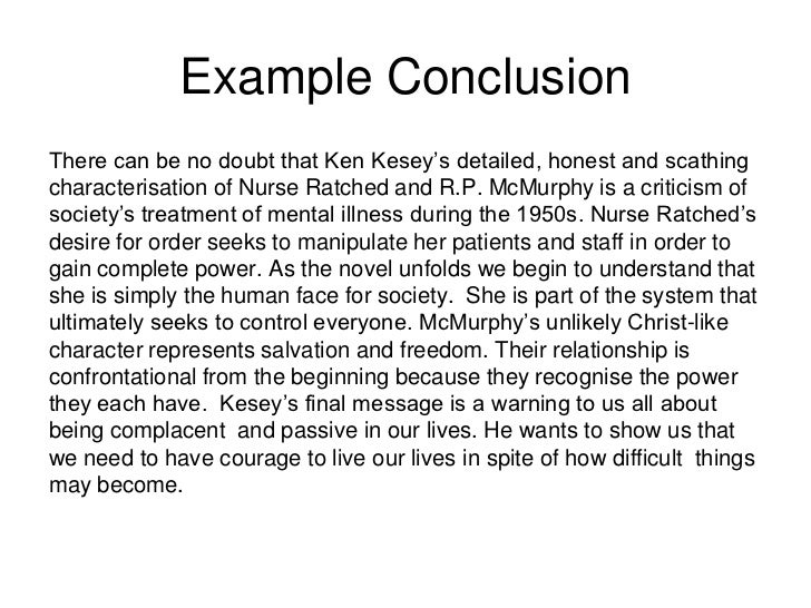 Conclusion for a compare/contrast essay?