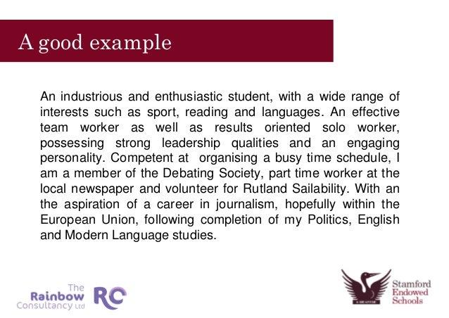 Cv Ideas Hobbies And Interests Essay - image 7