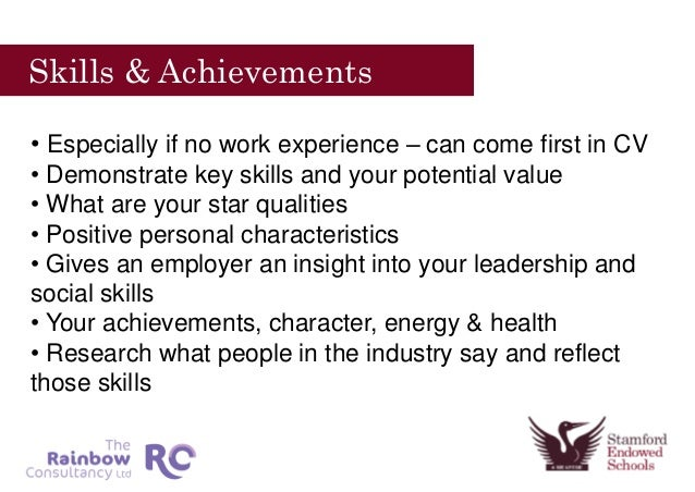 Skills And Accomplishments Resume Examples,Relevant Skills For ...