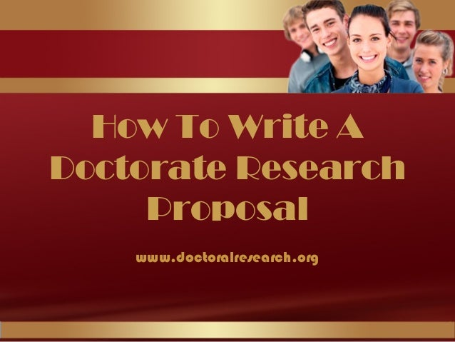 Doctorate research
