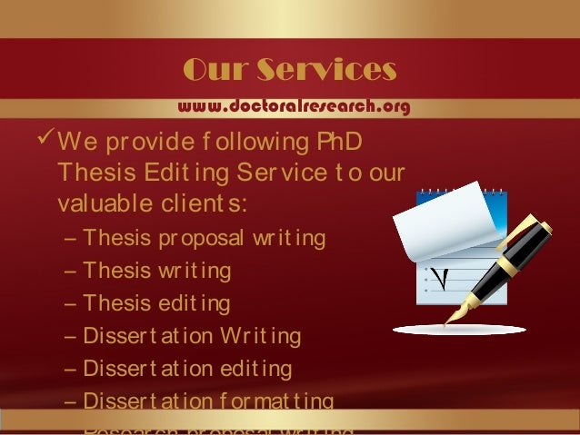 list of phd thesis