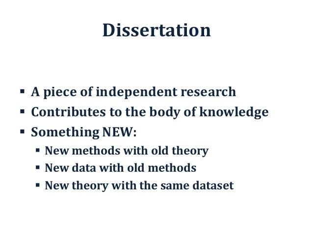 first class dissertation