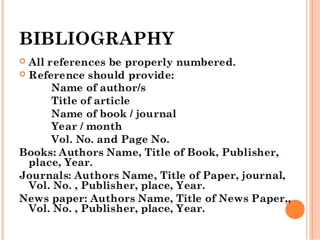bibliography for a research paper Works cited guide to writing a research paper bibliography: simply stated, a research paper is a gathering of guide to writing a research paper.