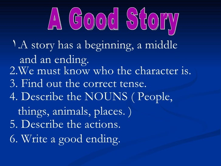 How to write an effective story
