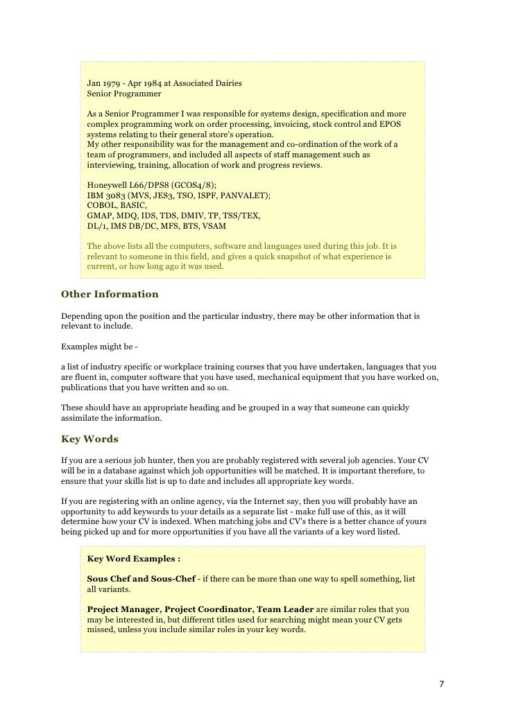 how to write a killer cv    resume