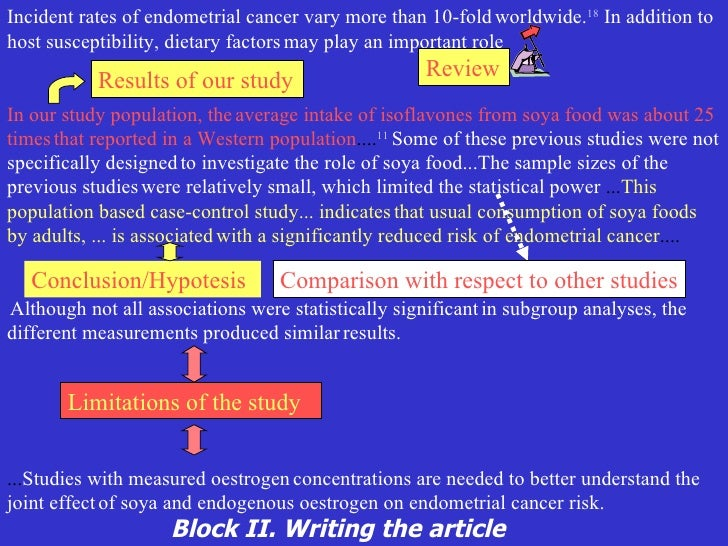 Medical article writing