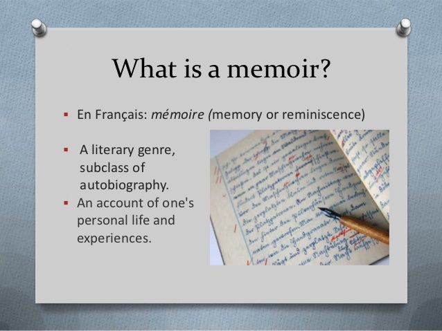How to Write a Memoir Q8sTPiCd