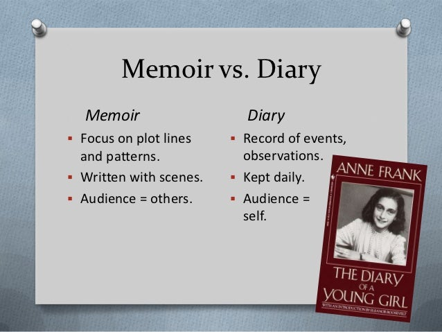 Suggestions for writing memoirs?