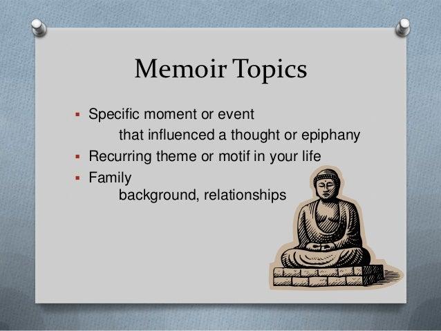 How do you write a memoir