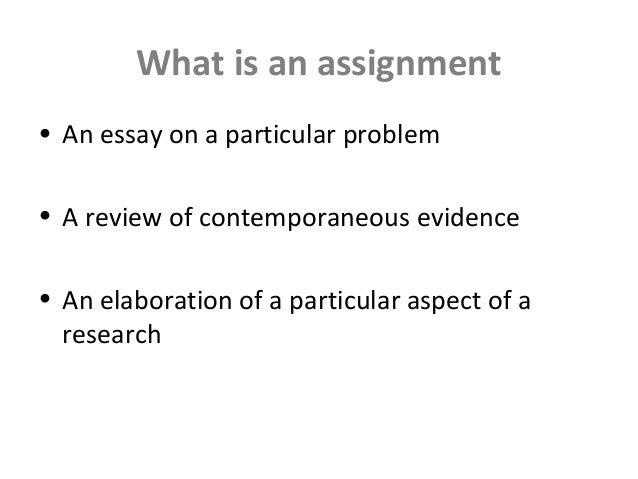 Assignment Definition | Investopedia