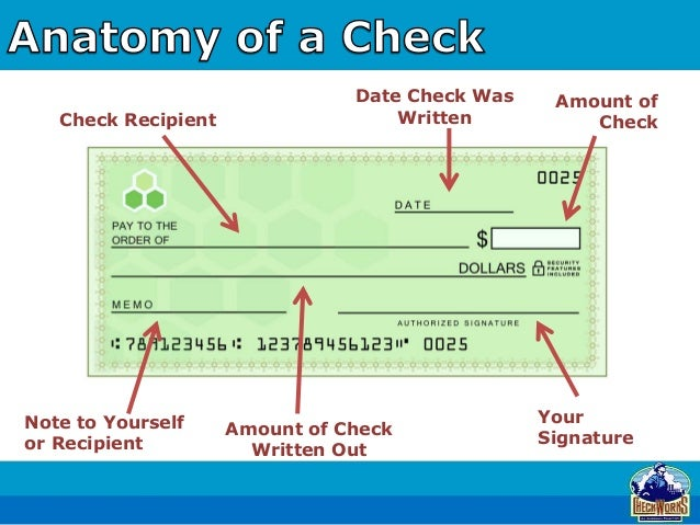 """write out a check On the right side of the check, write the amount using numerals in the box provided in the center of the check, spell out the dollar amount write the whole dollar amount just as you do on other documents, but leave off the word """"dollars"""" write the cents as digits and then draw a line under the cents figure write """"100"""" below this line."""