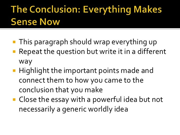 How to write effective essays