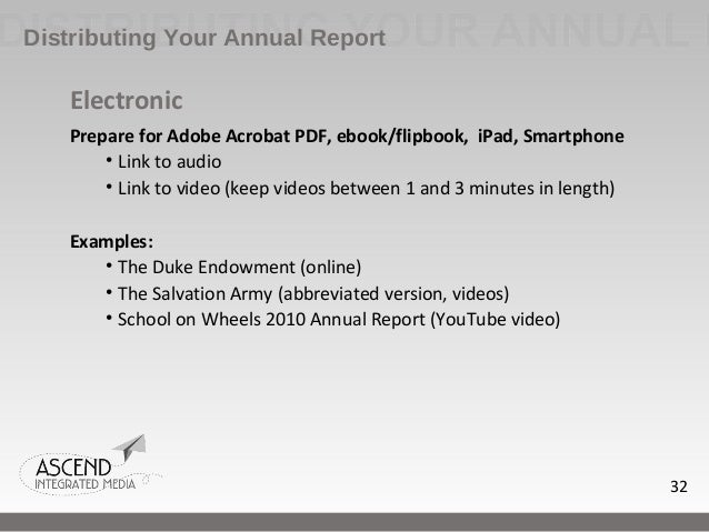 how to write a annual report Need a how-to guide download how to write a nonprofit annual report -- the e-book the latest edition of my popular e-book covers the five essentials of a good.