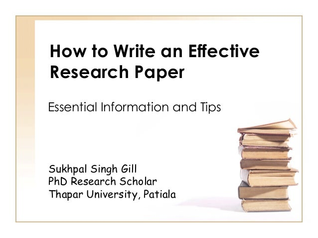 Write my how to research papers