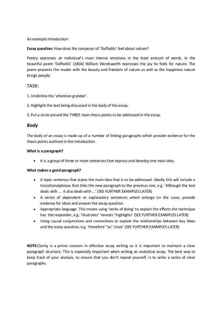 english essay introductions format Writing band six essays-intelligent introductions see the sample introduction and each module's essay writing blog what is discovery for hsc english essays.