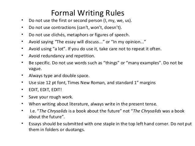 how to write an essay in college