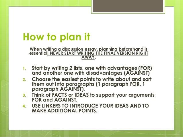 How To Write A Essay Writing