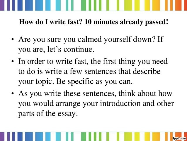 how to write research paper faster How to write a research paper fast - youtube december 3, 2015 mar 8, 2 12 to make the deadline only the knowledge of how to.