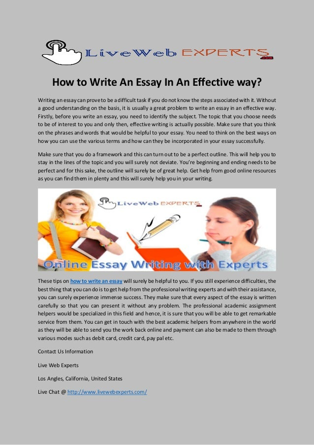 ways of writing an essay You want to write your essay but don't this way is rather popular with this type of essay the other way requires some kind of mixture of the two when.