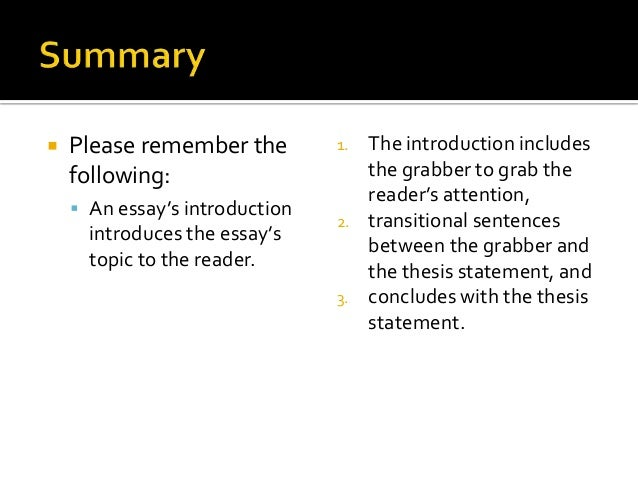 how to write essay introduction The introduction of the essay the function of the introduction is to serve as a 'map' of the essay, outlining to your reader the main argument and points which you.