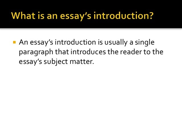 How to write an opening paragraph for thiss essay?