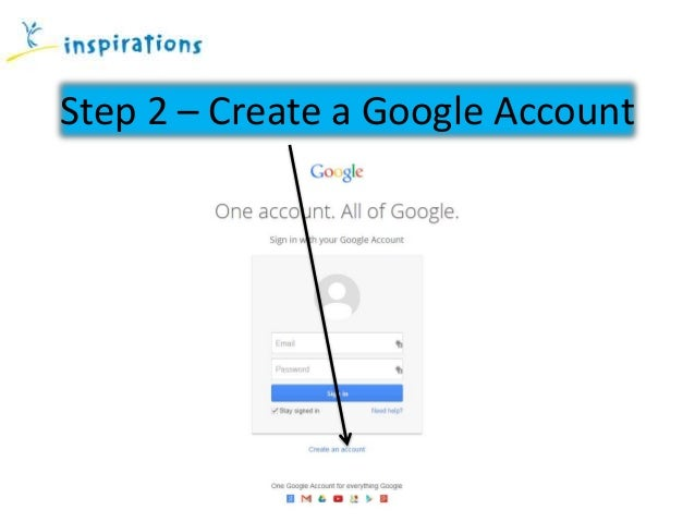 How to write an account?