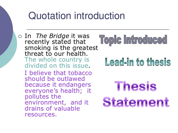 Which Introductory Paragraph is better?