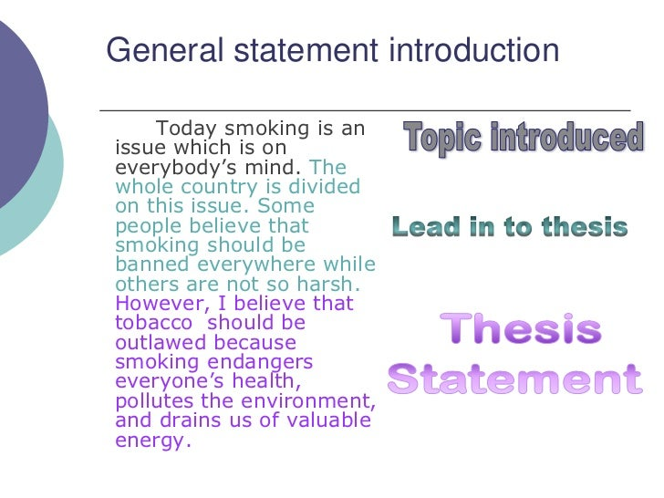 research paper smoking introduction Research paper introduction about gadgets:a significant decline in smoking prevalence in australia followed introduction of plain packaging after adjustment for the impact of other tobacco.