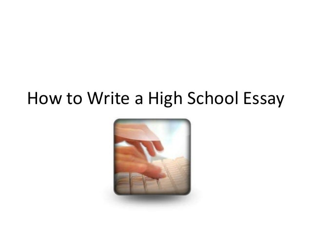How To Write A Paper For School