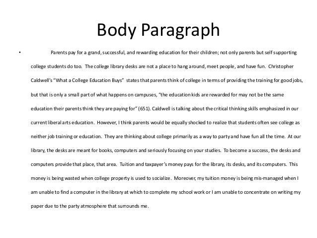 Essay about experience in school