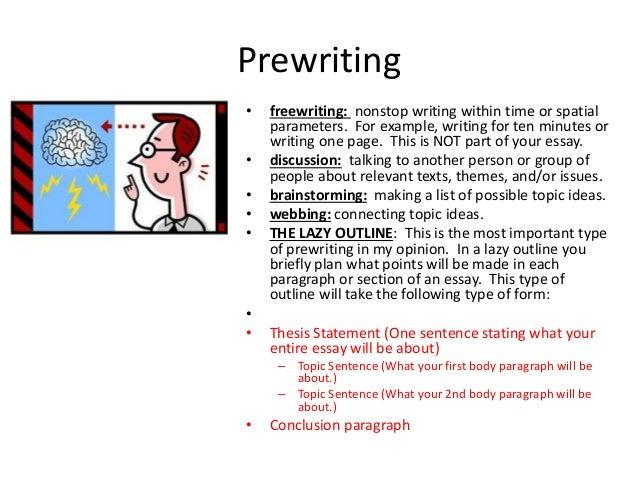 How to write an high school essay