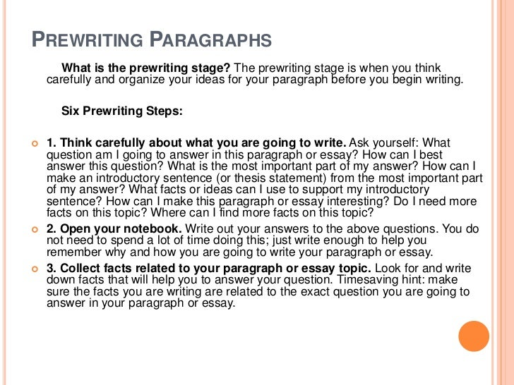 prewriting essays Level 7-9 pre-writing organizers are appropriate for middle and high school  students it is also  pre-writing organizer for persuasive or expository essays.